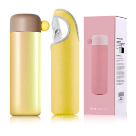 Double Insulated Water Bottle - Yellow