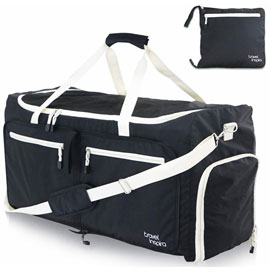 Foldable Duffel Bag - Assorted Colors