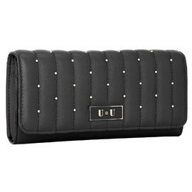 Wallet with Rivets - Assorted Colors